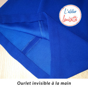 Ourlet invisible